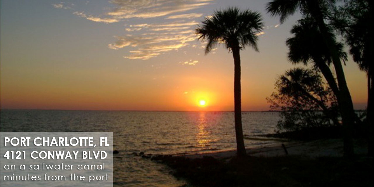 Waterfront Rental Property in Port Charlotte FL